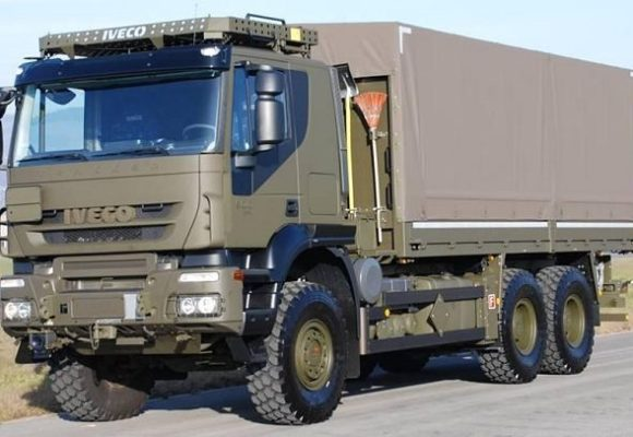 MoD to buy 173 IVECO 6X6 military trucks